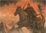 The Deathly Entourage of King Valdos of Tekhannis