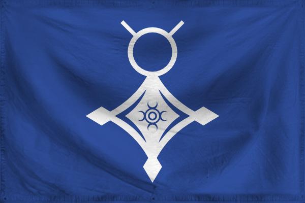 Touareg flag by Antrodemus