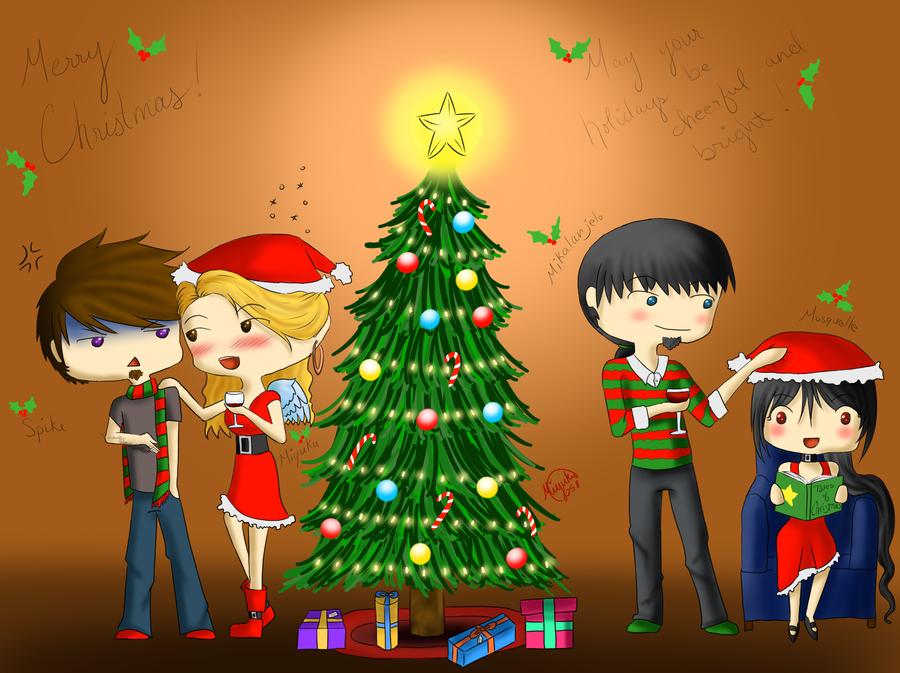 Christmas 2011 by miyuku258