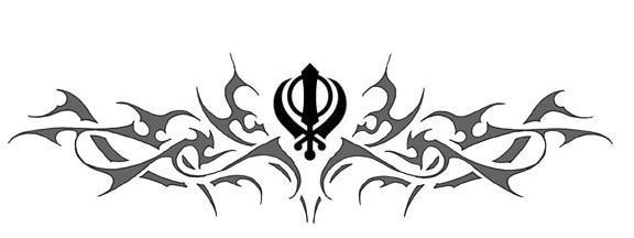 tribal khanda by accord2nv on deviantart. Black Bedroom Furniture Sets. Home Design Ideas