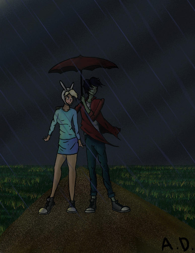 Fiolee in the Rain Remake by Just-Me143