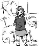 Crona Rolling Girl