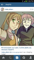 Soul Eater Instagram AU by Just-Me143
