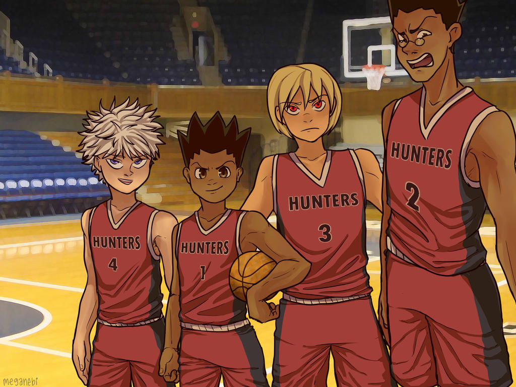 HxH Basketball AU by Just-Me143