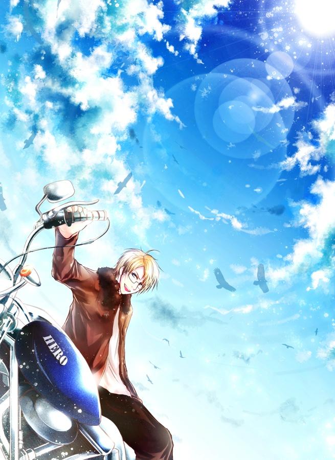 APH : Blue Sky by H2O-kun