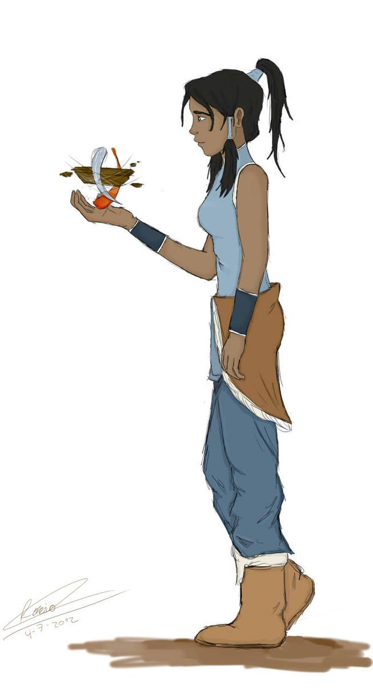 The legen of Korra by Rocio162