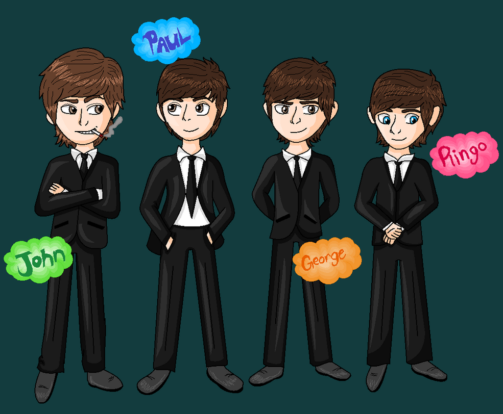 The Beatles by clau132MonsterHigh