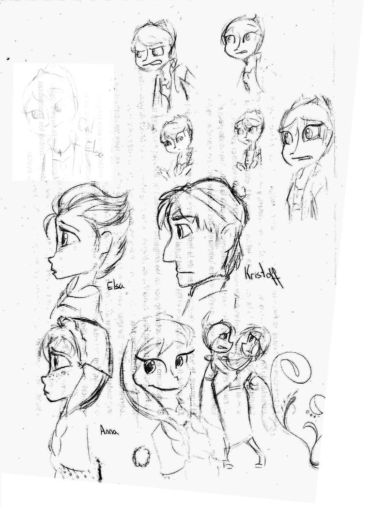 Frozen Sketches by Tutuna99