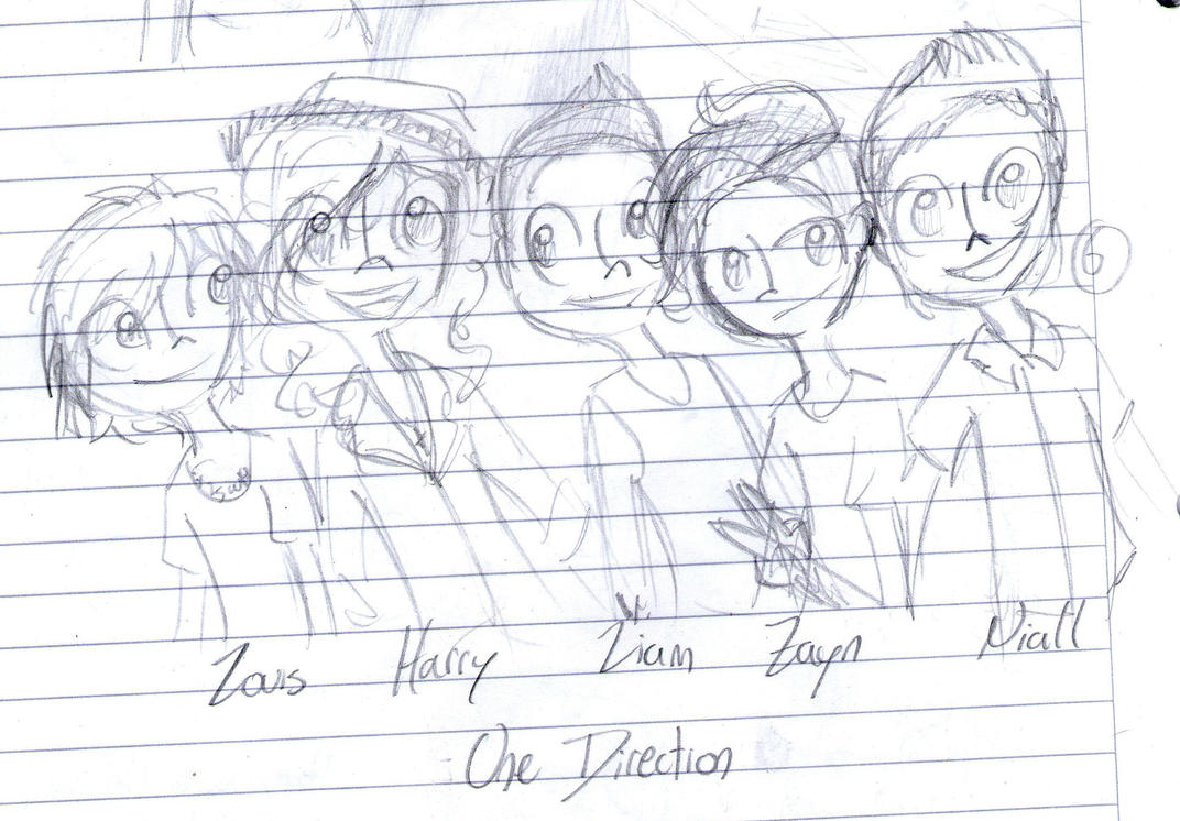 One Direction by Tutuna99