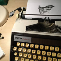 Typewritten Salvador Allende by lordnkon
