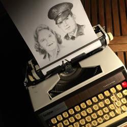 Typewritten Beautiful Couple by lordnkon