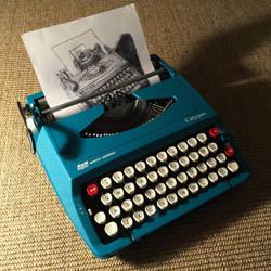 Typewritten Typewriter..writer..ter by lordnkon