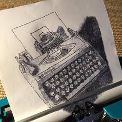 Typewritten Typewriter..writer..ter *CLOSEUP* by lordnkon