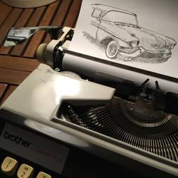 Typewritten Cadillac by lordnkon