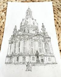 Typewritten Frauenkirche - Dresden by lordnkon