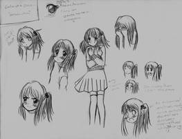 Character Design: Gabs-chan by LazySensei