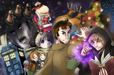 APH+DW: Eternal Winter by LazySensei