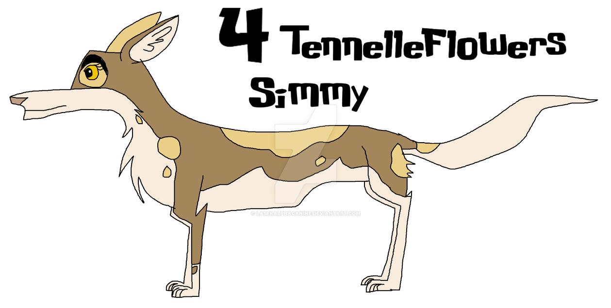 Simmy 4 TennelleFlowers by Laseralphacanine
