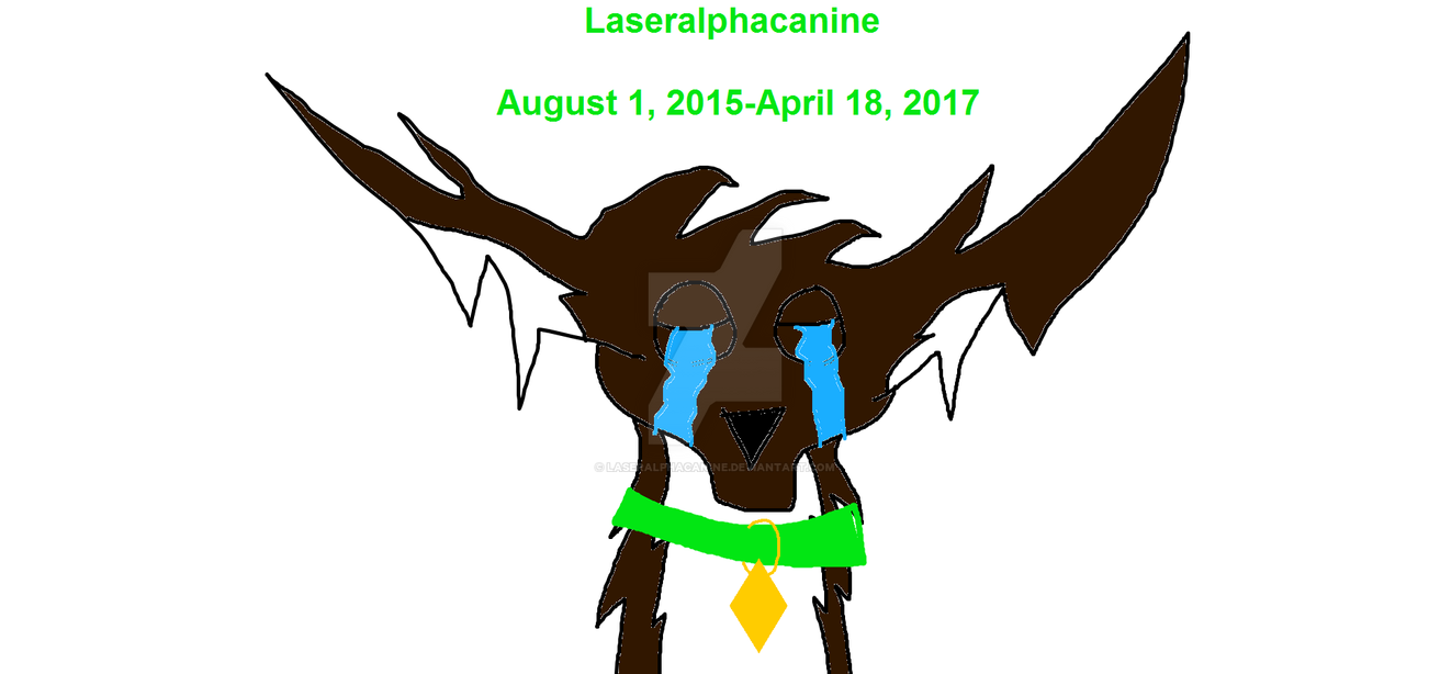 I quit DeviantArt! Read Description below! by Laseralphacanine