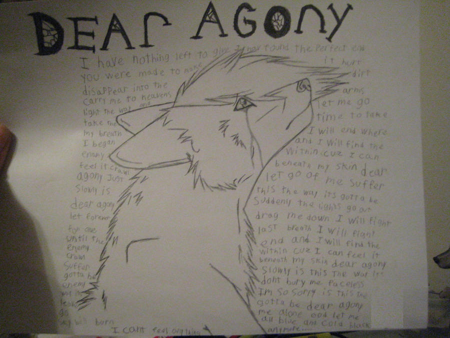 dear agony by lllshadowlll on deviantART
