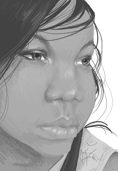 self-portrait by Sui-Sui