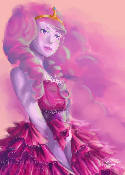 Princess Bubblegum by Sui-Sui