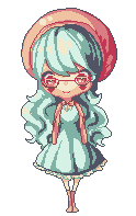 Pixel: GaiaOnline Avatar by Lilycal