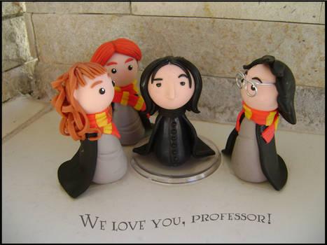 We love you, professor