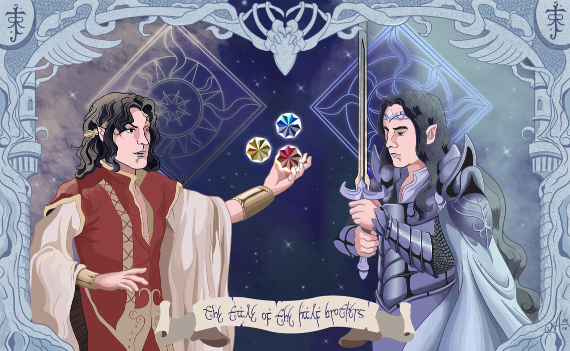 The tale of the half-brothers by Oracle-of-Moon