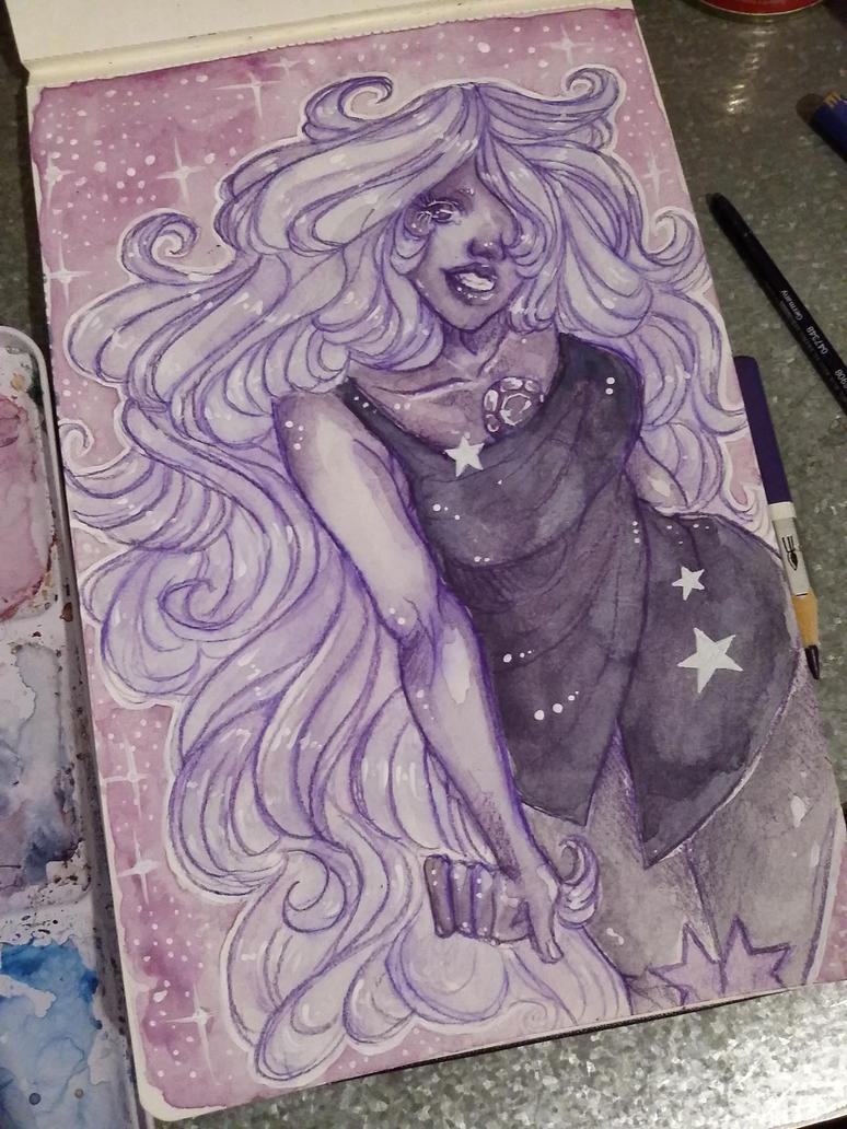 Steven Universe future prints: Amethyst