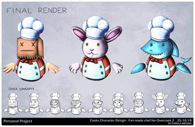 Chefs Concept Art