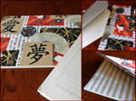 Japanese Notebook Covers by Totemo-Oishii