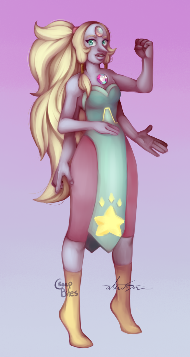 Opal ayyy biggest and first full body figure I've ever painted...amazing