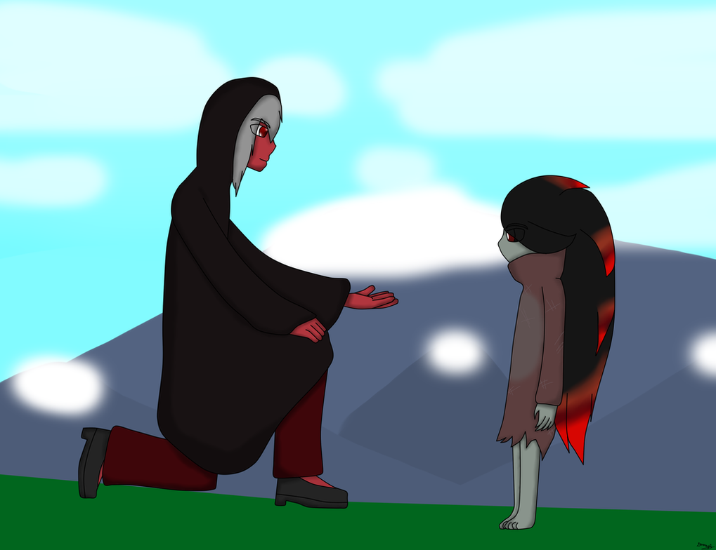 Siam and Bloodstone by Dan-Shattered-Heart