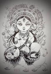 Durga Devi. by namprighom