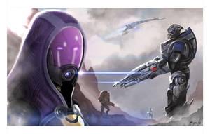 Mass Effect Squad by kmjoen