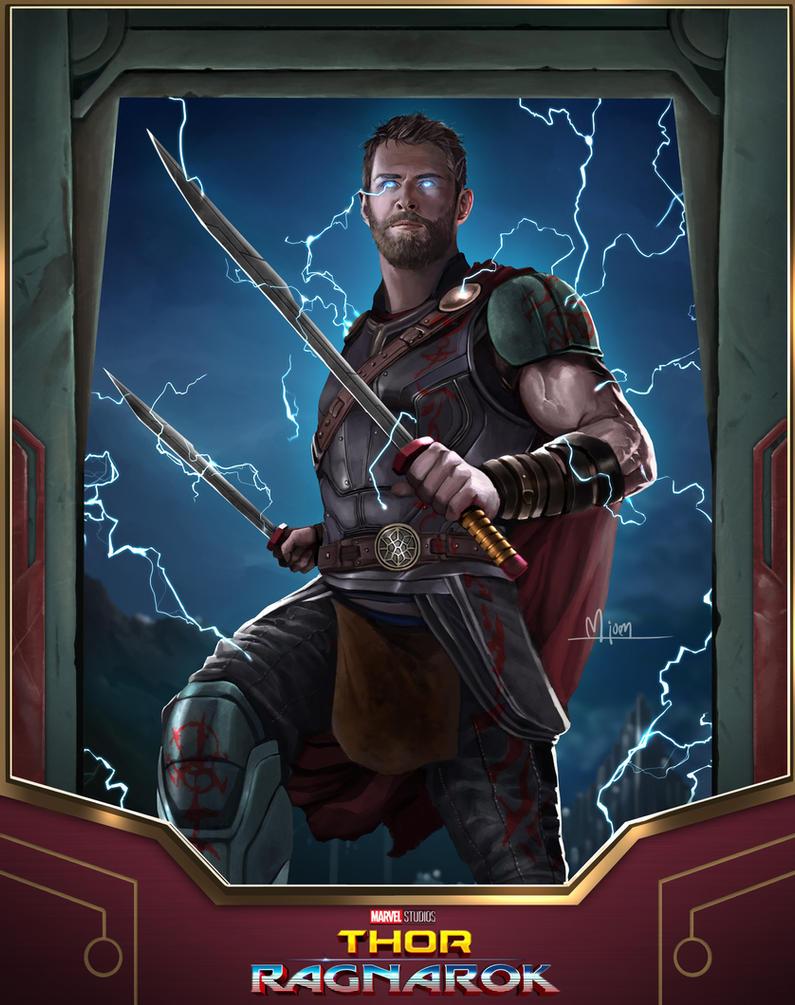Thor Ragnarok by kmjoen