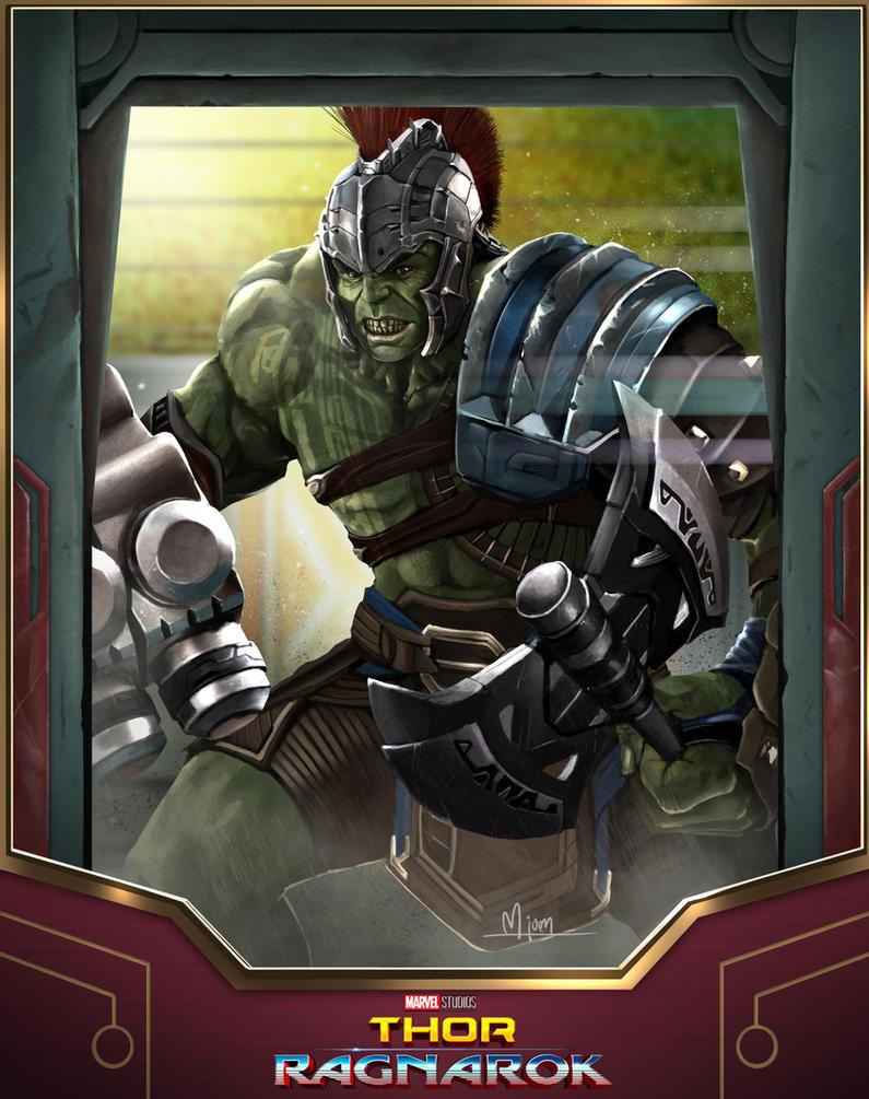 Hulk-Champion of Sakaar by kmjoen