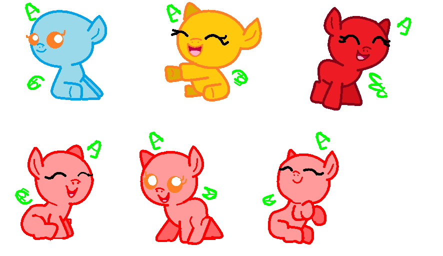 Mlp Baby Base Mlp baby bases by