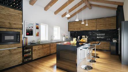 Rural tourism - kitchen by angelofernandes