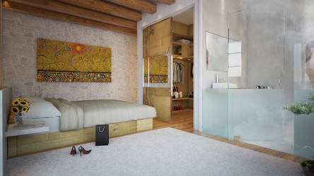 Rural tourism - bedroom by angelofernandes