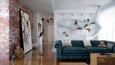 Living room by angelofernandes