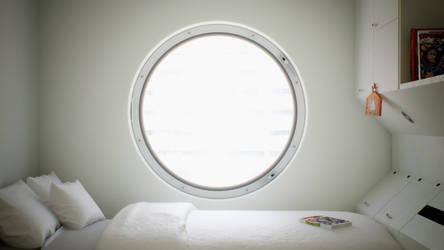 Nakagin capsule bedroom by angelofernandes