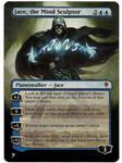 Jace, the Mind Sculptor painted Mtg alter 2