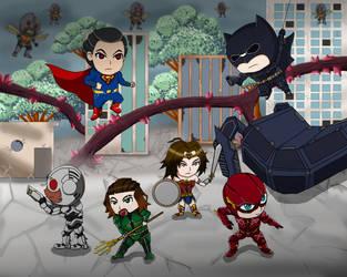 Final War (justice league) by Conaria