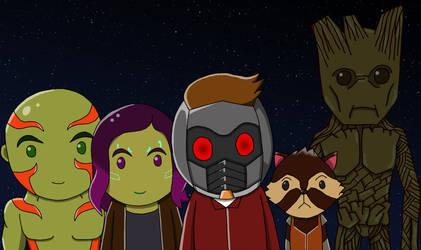 Guardians of galaxy by Conaria