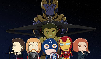 Avengers Endgame by Conaria