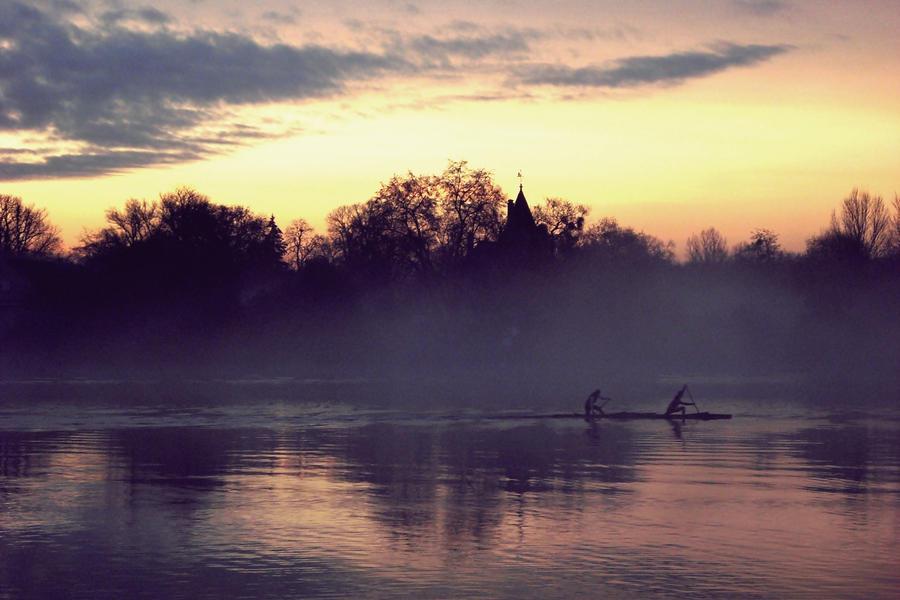 break of dawn by Marees