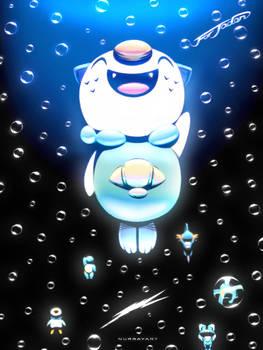 Pokemon 20th Anniversary - Gurupu Mizu