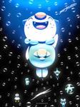 Pokemon 20th Anniversary - Gurupu Mizu by NurRayArt